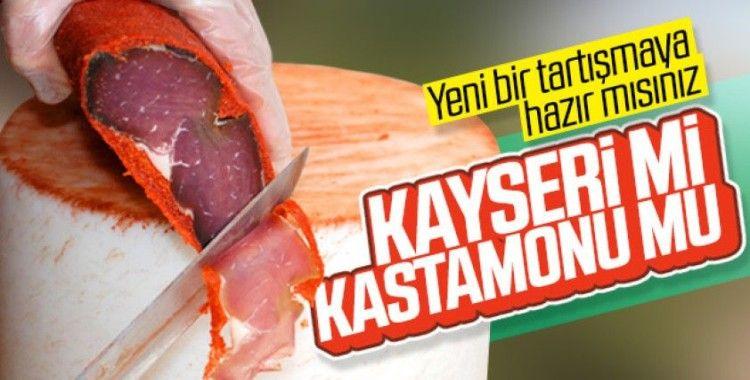 Pastırmada Kastamonu, Kayseri'yi gölgede bırakıyor!