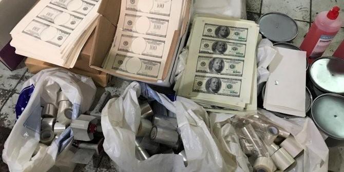 Ataşehir'de sahte dolar operasyonu