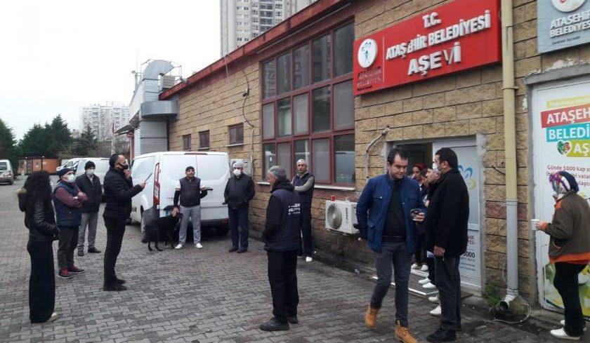 Ataşehir Belediyesi işçilerinden Hükümete çağrı