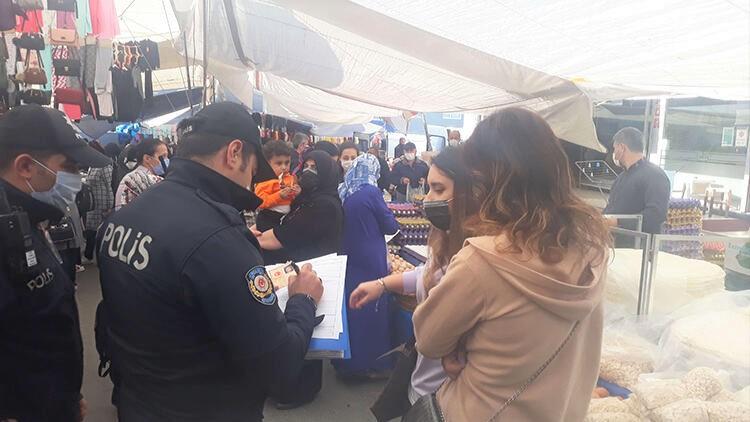 Ataşehir'de semt pazarlarında denetimler sürüyor