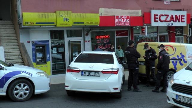 Ataşehir PTT'ye silahlı saldırı girişimi