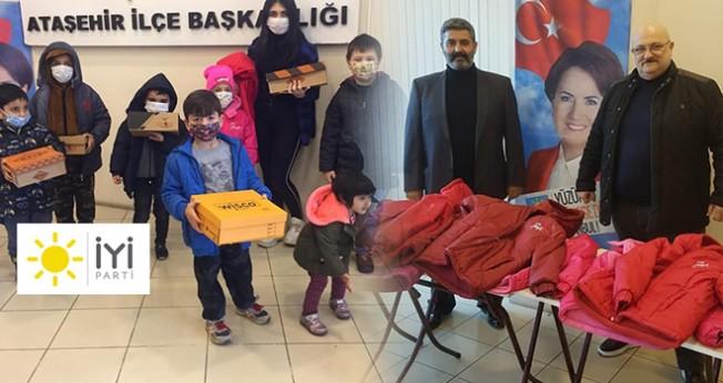 İYİ Parti Ataşehir'den 'Sıcacık' yardım!