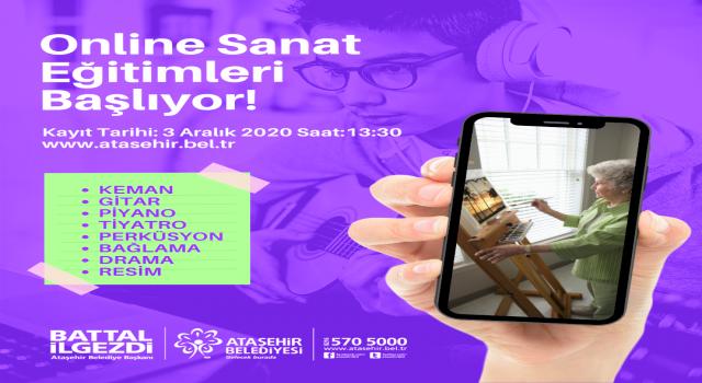 Ataşehir'de kış sanat okulu zamanı!