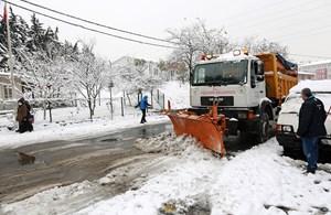 Ataşehir Belediyesi kar sınavını başarıyla atlattı