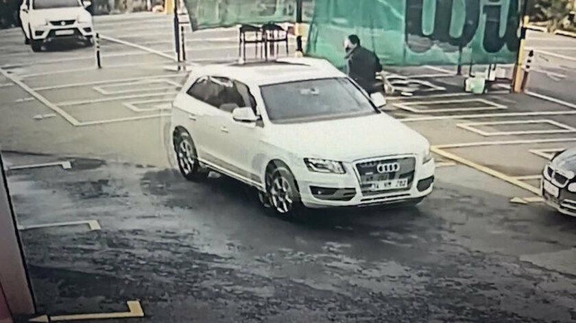 Ataşehir'de lüks cip hırsızlığı