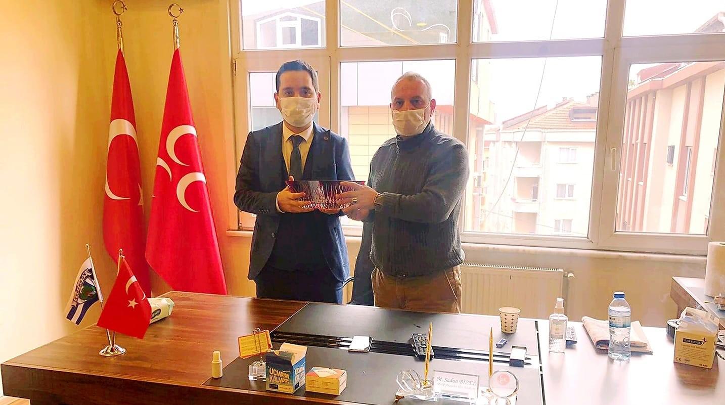 Ataşehir Aktüel'den MHP İlçe Başkanlığı'na ziyaret