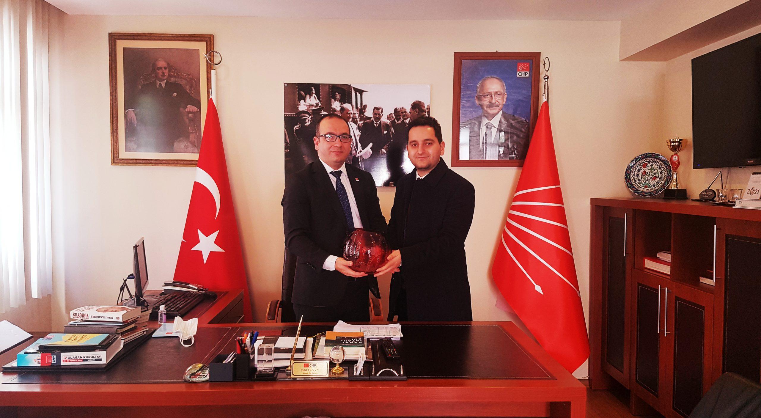 Ataşehir Aktüel'den CHP İlçe Başkanlığı'na ziyaret