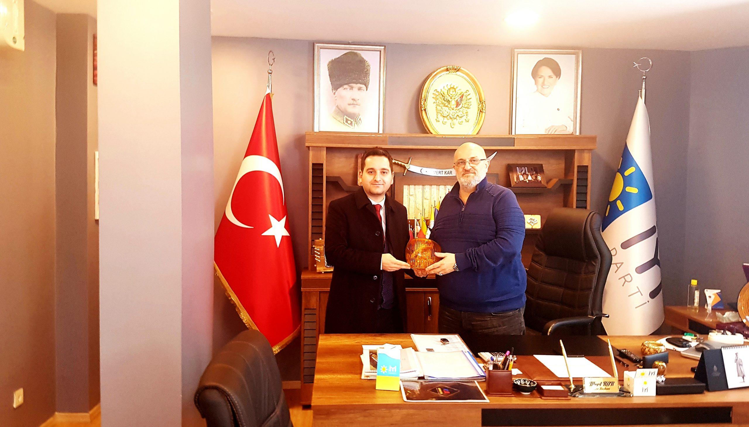 Ataşehir Aktüel'den İYİ Parti'ye ziyaret