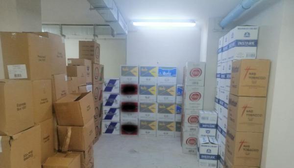 Ataşehir'de kaçak tütün operasyonu