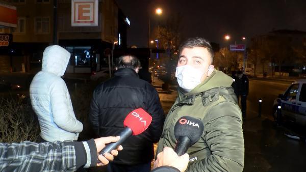 Ataşehir'de kısıtlamayı deldi! Kaza yaptı