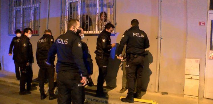 Ataşehir'de çaldıkları atla polisten kaçmaya çalıştılar