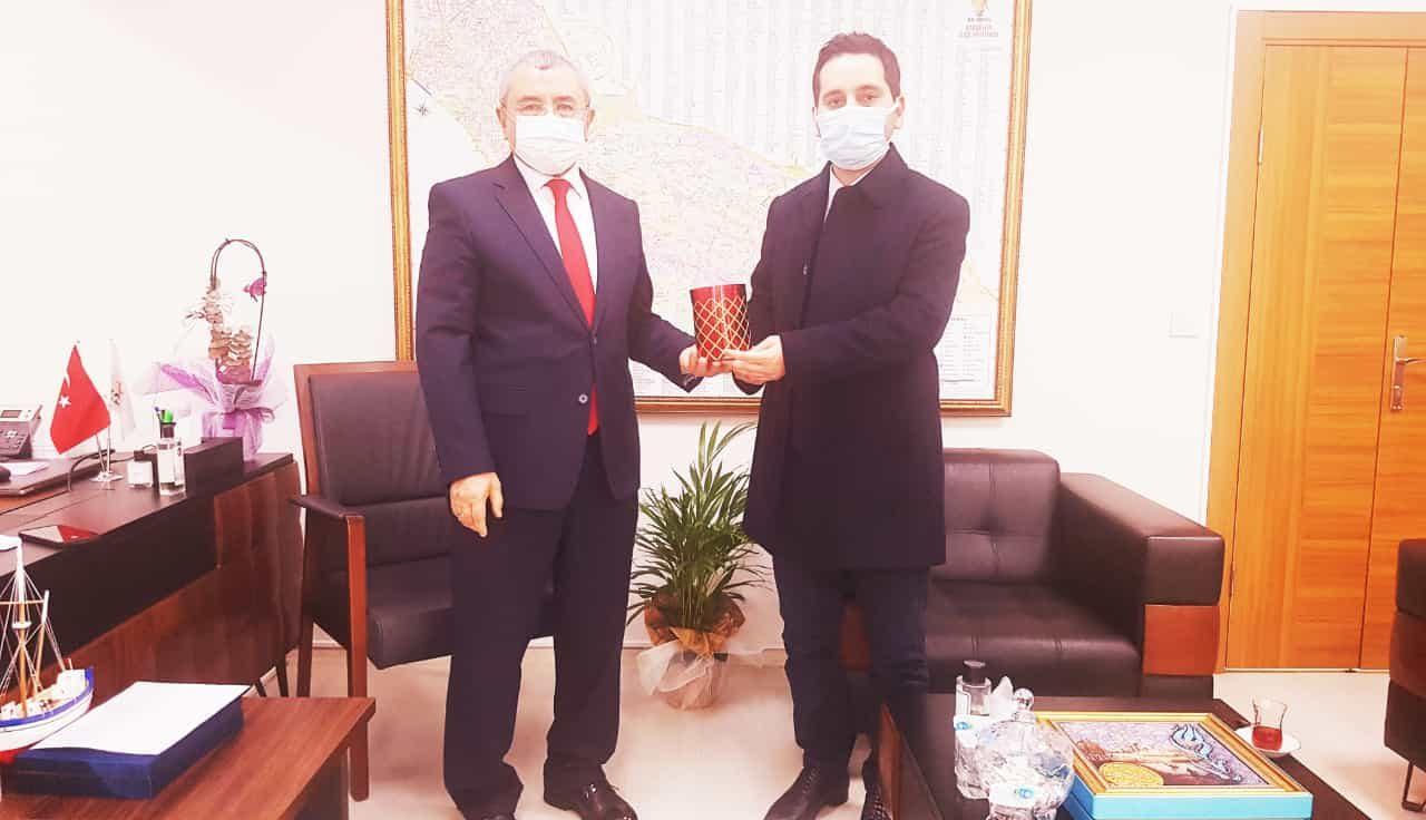 Ataşehir Aktüel'den AK Parti İlçe Başkanlığı'na ziyaret