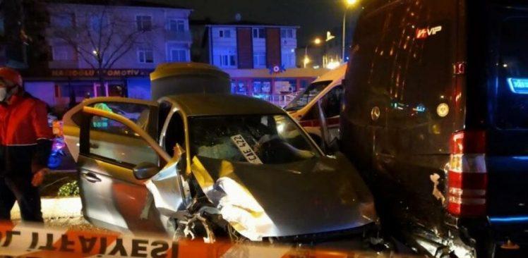 Ataşehir'de alkollü sürücü dehşet saçtı