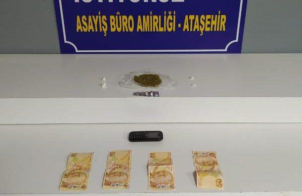 Ataşehir'de uyuşturucu operasyonu!