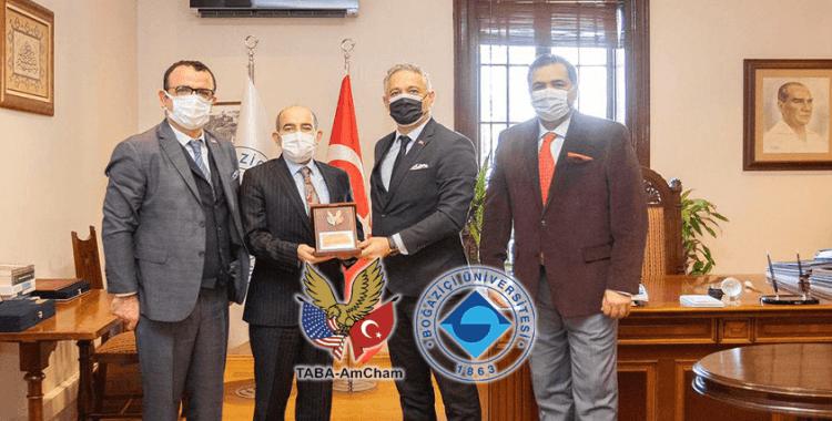 Boğaziçi Üniversitesi ve TABA AmCham arasında işbirliği zirvesi