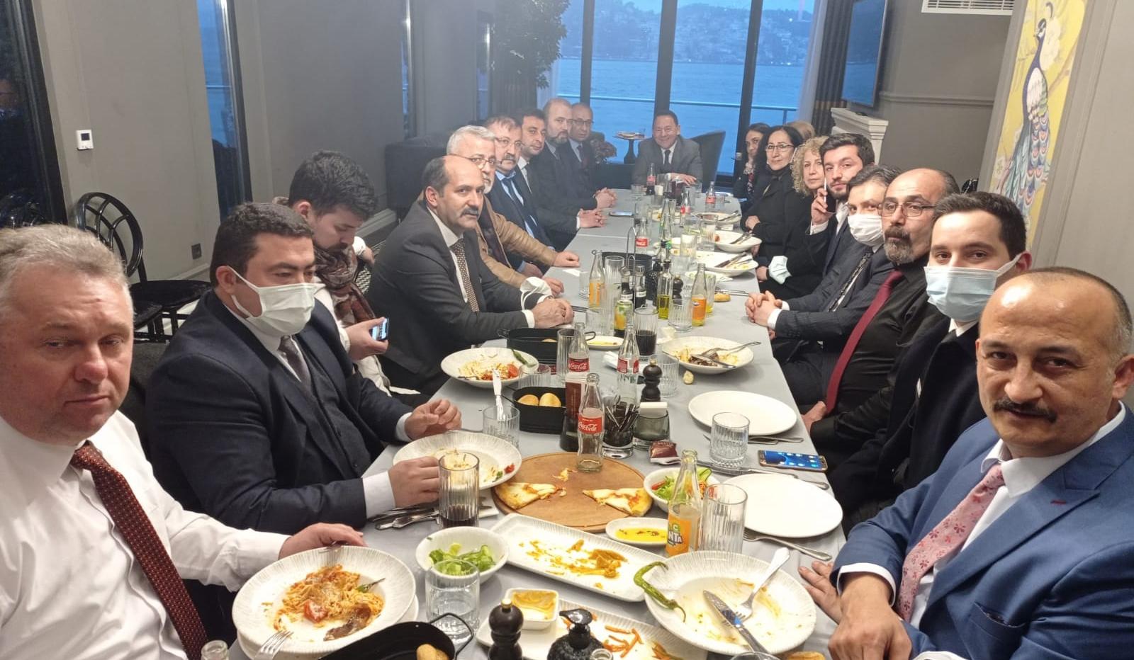 GMG Onursal Başkanı Cengiz Aygün KASDER'le buluştu
