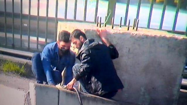 Ataşehir'de trafo kablolarını bile çalmaya çalıştılar