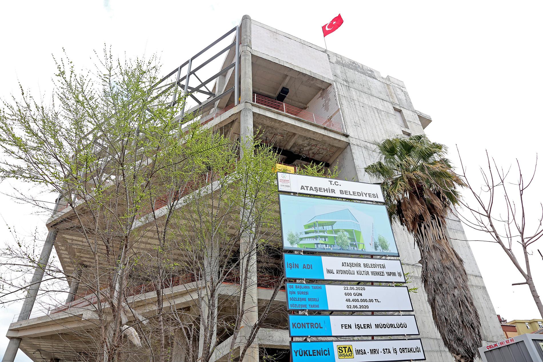 Ataşehir'den İstanbul'a ışık tutacak sanat merkezi!