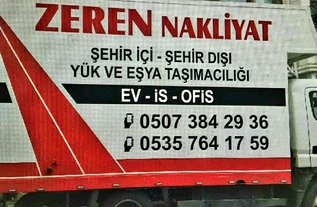 Anadolu Yakasında Nakliye denilince akla gelen firma: Zeren Nakliyat