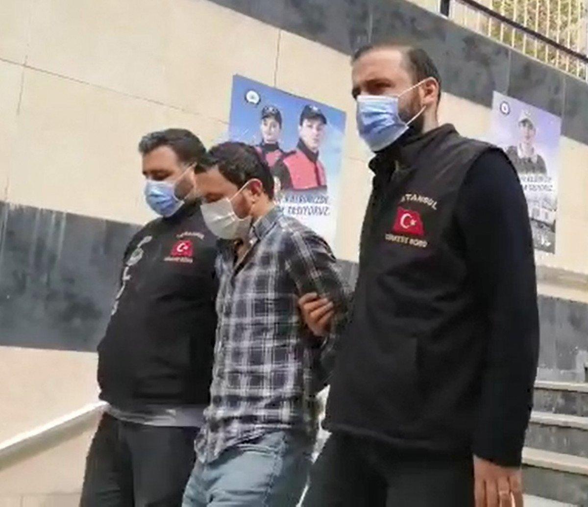 Yan baktın diye adam öldürmüştü: Ataşehir'de yakalandı
