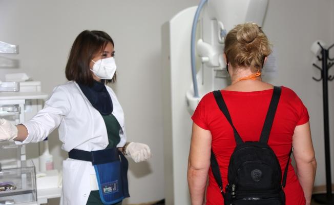 Ataşehir'de kadınlara sağlık taraması yapıldı