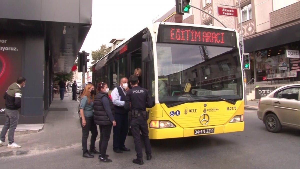 Ataşehir'de 11 yaşındaki çocuk otobüs altında kaldı